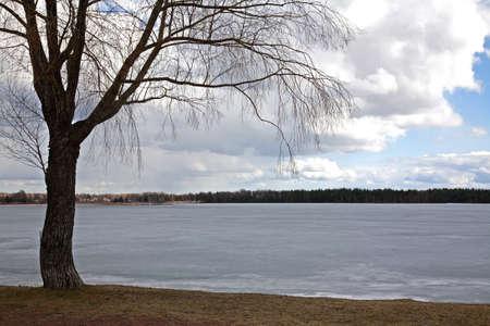 paysage: Siljan lake. Mora. Sweden