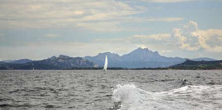 seaboard: Maddalena Archipelago. Sardinia. Italy Stock Photo