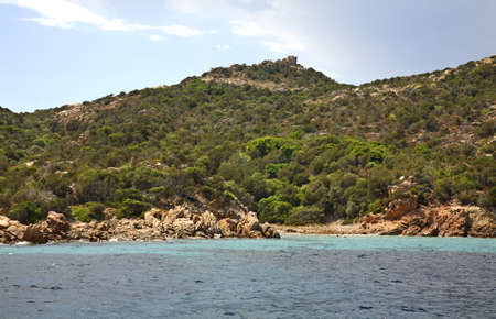 archipelago: Maddalena Archipelago. Sardinia. Italy Stock Photo