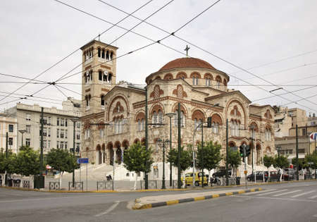 trinity: Church of St. Trinity in Piraeus. Greece Piraeus. Greece