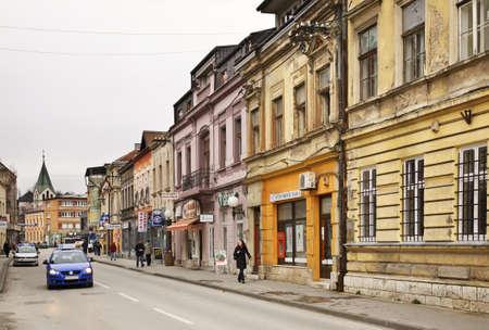 herzegovina: Bosanska street in Travnik. Bosnia and Herzegovina