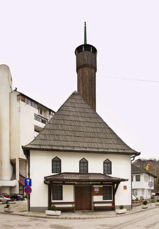 herzegovina: Konatorska  mosque in Travnik. Bosnia and Herzegovina