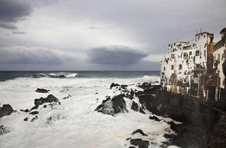 seaboard: Punta Brava. Tenerife. Canary Islands. Spain