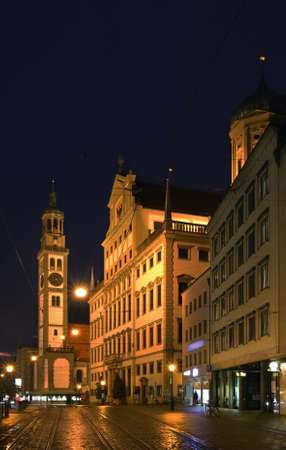in bavaria: Augsburg. Bavaria. Germany Stock Photo