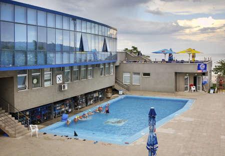 bulgaria: Swimming pool in Varna. Bulgaria