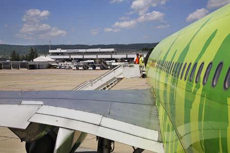 bulgaria: Varna Airport. Bulgaria