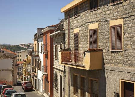 Nuoro. Sardinien. Italien Standard-Bild - 37747447