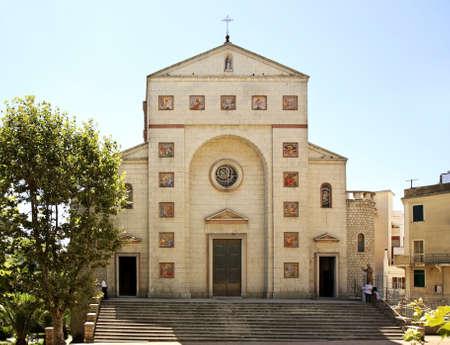 madonna: Church of the Madonna delle Grazie in Nuoro. Sardinia. Italy