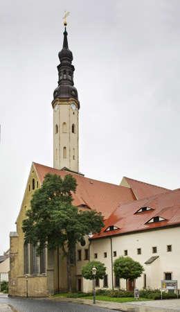 minster: Minster - Klosterkirche in Zittau. Germany Stock Photo