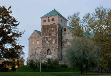 suomi: Turku castle. Finland Editorial