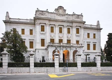 littoral: Maritime and history museum of the Croatian littoral in Rijeka. Croatia
