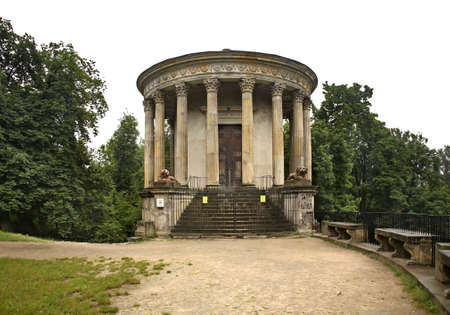 sibyl: Temple of the Sibyl in Pulawy. Poland