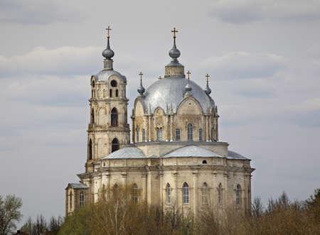 trinity: Trinity Cathedral in Gus-Zhelezny. Ryazan oblast. Russia Stock Photo