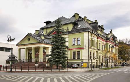 cz: Building in Nowy Sacz. Poland