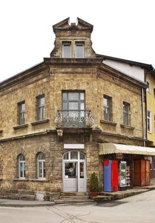 herzegovina: Street in Jajce. Bosnia and Herzegovina Stock Photo