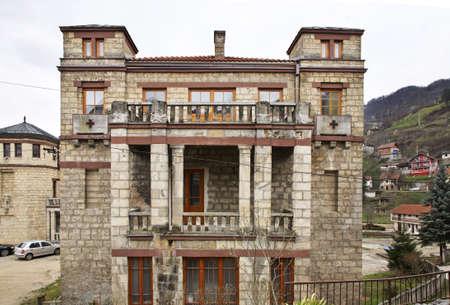 herzegovina: Franciscan Monastery in Jajce. Bosnia and Herzegovina Stock Photo