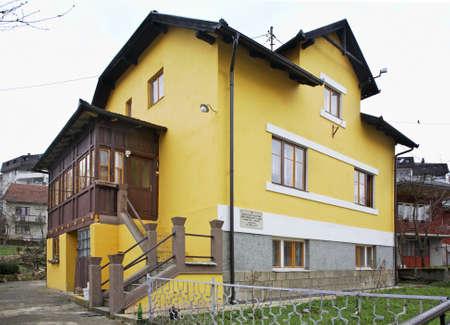 herzegovina: Memorial building in Jajce. Bosnia and Herzegovina