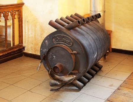 sigulda: Old stove in Sigulda. Latvia