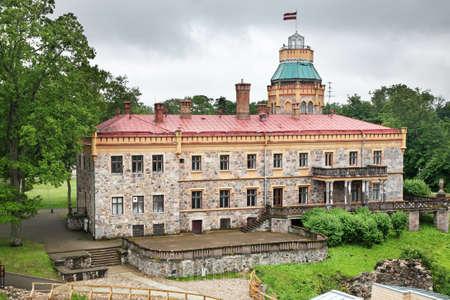 sigulda: New Castle Sigulda. Letonia