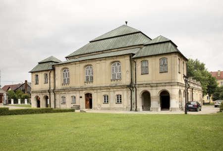 synagogue: Old synagogue in Wlodawa. Poland Stock Photo