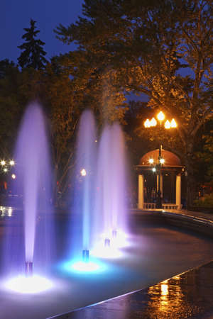 sakhalin: Chekhov square  in Yuzhno-Sakhalinsk. Sakhalin island. Russia