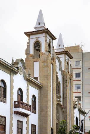santa cruz de tenerife: Church of San Jose in Santa Cruz de Tenerife. Canary Islands. Spain