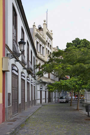 santa cruz de tenerife: Street in Santa Cruz de Tenerife. Canary Islands. Spain