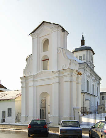 conception: Bernardine Church of the Immaculate Conception in Slonim. Belarus Stock Photo