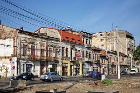 Street in Bucharest. Romania