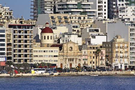nazareth: Church of Jesus of Nazareth in Sliema (Tas-Sliema). Malta island