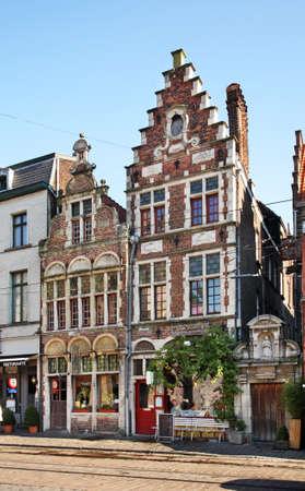 flanders: Ghent. Flanders. Belgium Editorial
