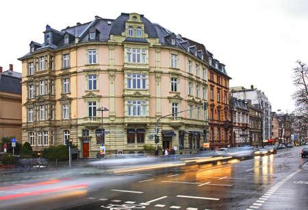 Street in Frankfurt am Main. Germany