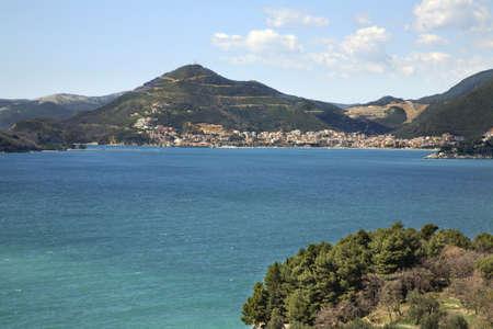 paysage: Adriatic sea near Budva. Montenegro