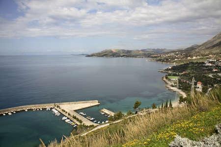 seaboard: Adriatic Sea near Plat.  Dalmatia. Croatia