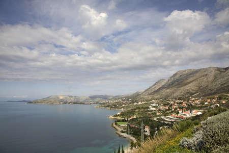 dalmatia: Adriatic Sea near Plat.  Dalmatia. Croatia