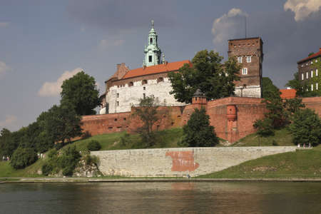 krakow: Wawel in Krakow. Poland Editorial