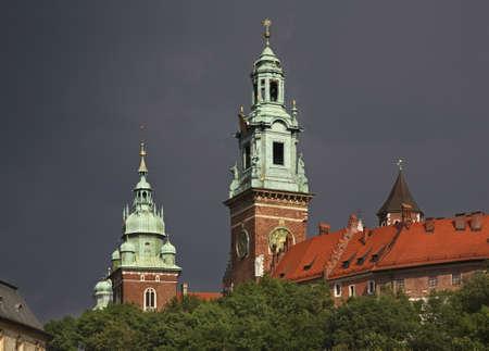 wawel: Wawel in Krakow. Poland Editorial