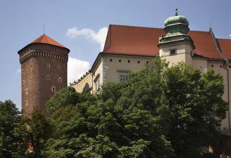 krakow: Wawel in Krakow. Poland Editorial