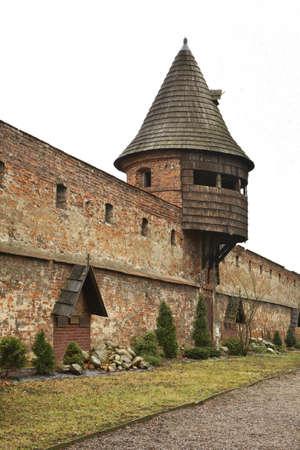 benedictine: Benedictine abbey in Jaroslaw. Poland