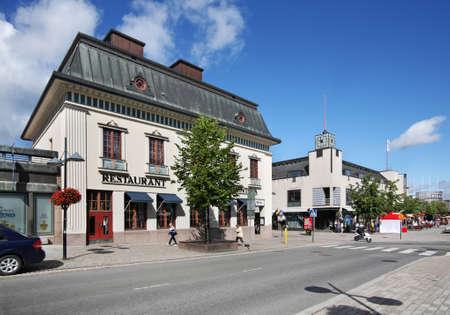 suomi: Main street in Lappeenranta. South Karelia. Finland