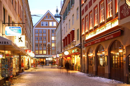 Old town in Munich. Germany