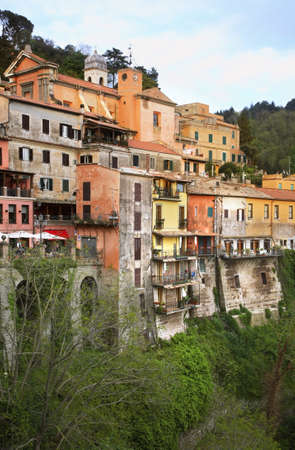lazio: Nemi. Lazio region. Italy