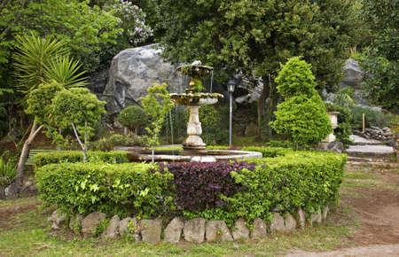 lazio: Park in Nemi. Lazio region. Italy Stock Photo
