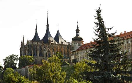 barbara: St. Barbara Church in Kutna Hora. Czech Republic