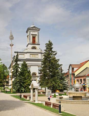 lutheran: Lutheran Church on St. Egidius Square in Poprad. Slovakia