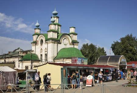 Church of the Assumption in Kungur. Perm Krai. Russia