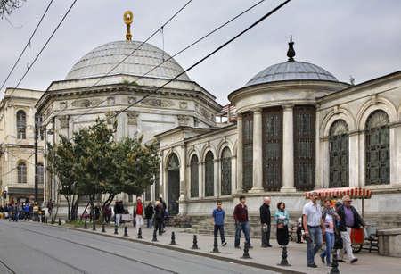 mausoleum: Mausoleum of Sultan Mahmud II in Istanbul. Turkey Editorial