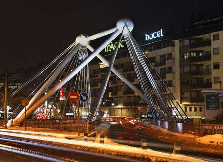 andorra: Bridge in Andorra la Vella. Andorra