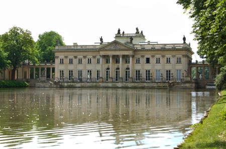 lazienki: Lazienki palace in Warsaw. Poland, Editorial