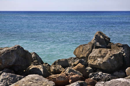 LUNA: Rancho Luna. Caribbean Sea. Atlantic Ocean Stock Photo